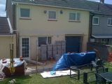 Preparing for new extension to house in Southway